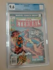Eternals 3 CGC 9.6 - WHITE Pages