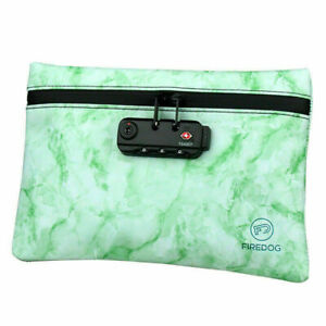 Smell Proof Bag with Combination Lock Travel Deodorant Pouch Case Container