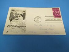 First Day Cover, Honoring Amateur Radio Operations, 50th Anniversary, 1964, FDC