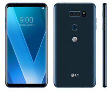 "LG V30 H930 MOROCCAN BLUE 6.0"" QHD+ OLED FACTORY UNLOCKED  B&O PLAY 64GB 4G LTE"