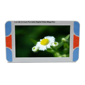 """5"""" LCD Display Low Vision Video Magnifier Electronic Reading Aid Digital Loupe"""