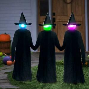 170cm Halloween Light-Up Witches Ghost Halloween Decoration Horror Props Creepy