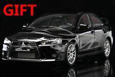 Car Model Mitsubishi Lancer EVO-X (Black) Left 1:18 + SMALL GIFT!!!!!!!!!!!
