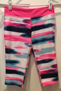 Nike Womens S Capris Dri Fit Tie Dye Pink