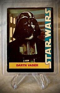 1977 STAR WARS - DARTH VADER - Wonder Bread Trading Card #5