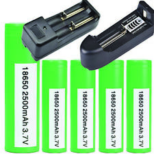 Samsung INR 18650 25R 2500mAh 20Amp Flat Top Rechargeable Battery / Wholesale