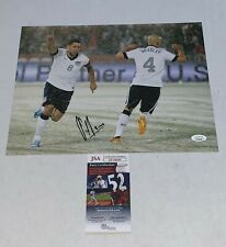 Clint Dempsey Seattle Sounders signed Team USA Soccer 11x14 photo Proof 3 JSA