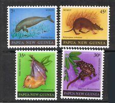 PAPUA NEW GUINEA 1980 DUGONG & 1981 SHELLS