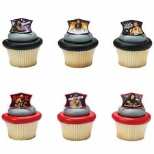 NEW WWE RING LEADERS NEW STYLE CUPCAKE RINGS (12)