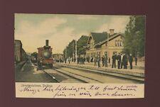 Sweden BORLANGE Jarnvagsstationen Railway Station c1902 u/b PPC slight cut down