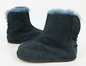 Ugg Toddler's Boo Boots 5206 Navy Blue Size L (Toddlers 6/7 18-24 Months)