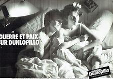 Publicité Advertising 068  1982   Matelas latex  Dunlopillo sommier ( 2pages)