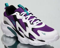 Reebok DMX Series 1000 Mens White Purple Casual Lifestyle Sneakers Shoes DV8743