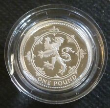 1994 Sterling Silver Proof One Pound £1 Royal Mint In Box Of Issue + COA
