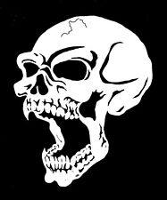 high detail airbrush stencil  skull 45 FREE UK POSTAGE