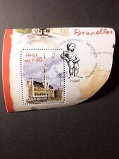 FRANCE 2007, timbre 4074 CAPITALES, BRUXELLES oblitéré 1° JOUR CANCEL FDC stamp
