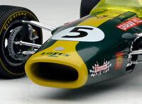 Racer Lotus Ford 1960s Vintage Sport Race Car Formula 1 18 GP F Indy 500 Metal