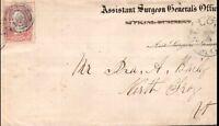 "ST. LOUIS,MISSOURI COVER.  ""Assistant Surgeon General's Office"", (uncommon) ."