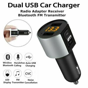 Handsfree Wireless Bluetooth Car Kit FM Transmitter Radio MP3 Player USB Charger