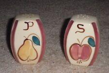 Purinton Salt & Pepper Shakers