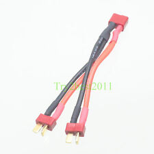 Deans Style T-Plug Parallel Battery Connector Y Harness High Quality