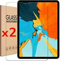 2x Tempered Glass Screen Protector For iPad 9.7 10.2 7th 5th 6th Mini Air Pro -
