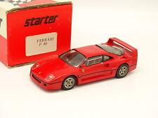 Starter Kit Montato 1/43 - Ferrari F40 Rosso