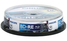 20 Philips Rohlinge Blu-ray BD-RE 25GB 2x Spindel