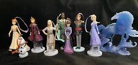 NEW Disney Frozen 2 Christmas Ornament set of 9 Elsa, Anna, Nokk, King Queen