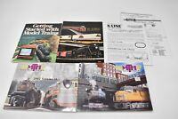 Lot of Books, Catalogs: Coca Cola TTAX MTH Guide, Model Train Vintage K-Line