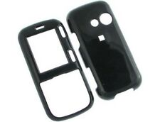 Black Snap On Hard Plastic Phone Protector Cover Case For LG Rumor2 LX265
