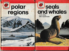 Ladybird Books: Series737, Ladybird Leaders, Polar Regions; Seals and Whales