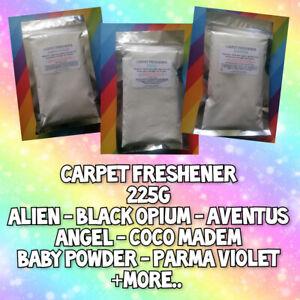💕 Carpet Freshener 225g Scented Odour Eliminating Shake Vac Hard Floors Hinch