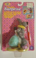 Egg Hollow 1992 Easter Surprise - Brush Egg with Cold Water - VTG Trendmasters