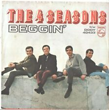 4 SEASONS--PICTURE SLEEVE + 45---(BEGGIN;)---PS---PIC---SLV