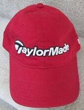 Taylor Made Baseball Cap Hat Brand New NWT Red