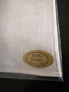 Quality Handkerchief for Lacework Wedding Craft Hankies100% Irish Linen washable