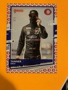 2021 DONRUSS RACING TANNER GRAY 5/5 SSP ~ #110