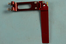 RUDDER 130mm LONG with WATER PICKUP brushless rc boat aluminium RED