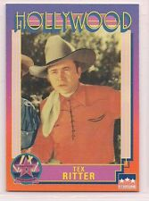 1991 Starline Hollywood Walk of Fame Tex Ritter