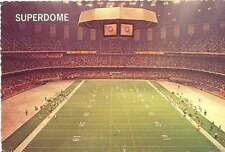 American Football Postcard - Louisiana Superdrome 1977