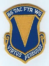 70s-80s 86th TAC FIGHTER WING(WITH MOTTO) patch