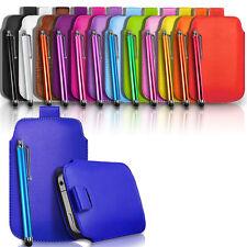 Tira De Cuero Tab Funda Bolsa Y Stylus se adapta a diferentes Samsung phones/mobiles