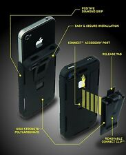 Nite Ize Connect Case Soild Black iPhone 4 & 4S CNT-IP4-01SC