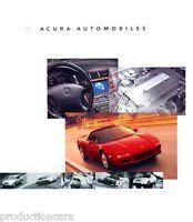 2000 Acura 16-page Original Car Sales Brochure - NSX TL RL Integra NSX-T