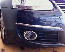 VW JETTA MK5 MK V TSI TDI CHROME FOG LIGHT LAMP SIDE GRILL GRILLE TRIM COVER KIT