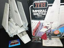 $ VTG~1977~1983~1984~1985~Kenner~Star~Wars~Imperial~Shuttle~ship~vehicle~box~lot