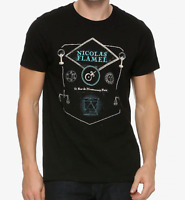 Fantastic Beasts THE CRIMES OF GRINDELWALD NICOLAS FLAMEL T-Shirt NEW Official