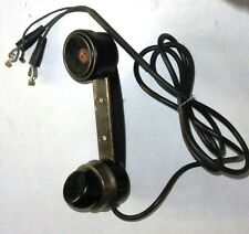 Handset Signal-Corps TS10-M US 1944 years tested 100% good work without battery
