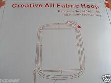 "All Fabric Hoop 5""x5"" 130x130mm PFAFF Creative 2140, 2170, 2144 #93-039340-44"